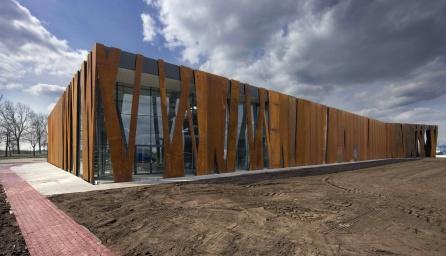 Architectuurbureau sluijmer en van leeuwen projecten sterk bedrijf - Architectuur staal corten ...